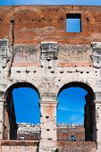 Colosseum -architectural detail