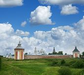 Saviour Monastery Prilutsky in Vologda city