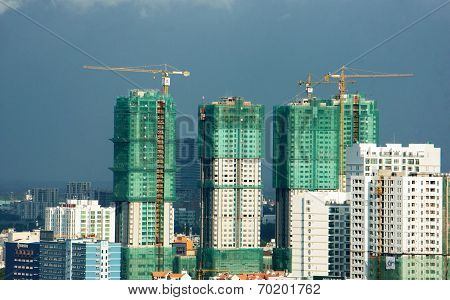 Vietnamese Construction, Apartment Block