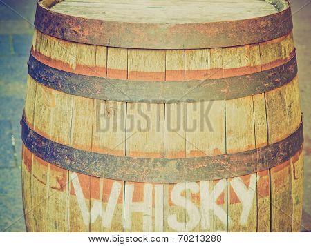 Retro Look Barrel Cask
