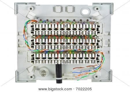 The Real  Junction Box For A Telephony