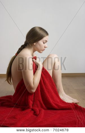 Spa Woman In Red