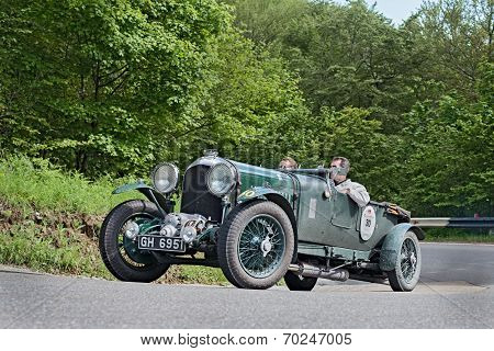 Bentley 4 1/2 Litre Supercharged In Mille Miglia 2013