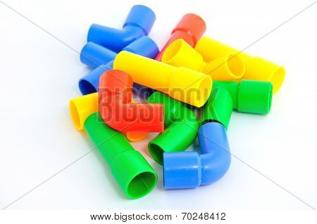 Colorful Pipe Toy For Child
