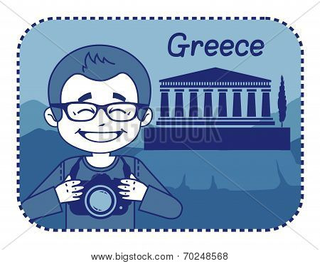 Teaser with photographer travels through Greece