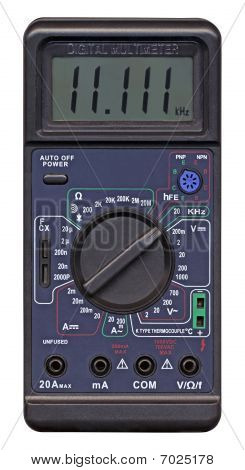 Digital Multimeter With Switch, Different Measurement