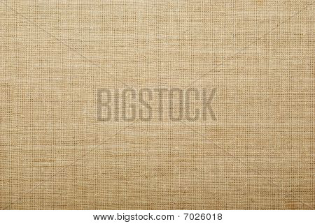 Textured Burlap Background