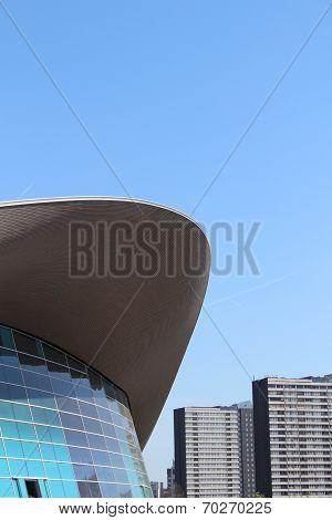 London - April 5. The Aquatics Centre At The New Queen Elizabeth Olympic Park On April 5, 2014