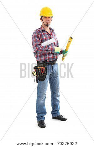 Carpenter Contractor Man