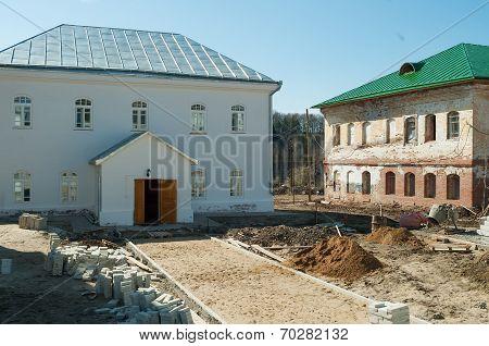 Restoration in Ioanno-Vvedensky female monastery
