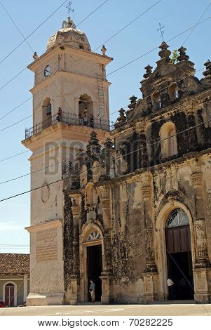 Church La Merced, Granada, Nicaragua