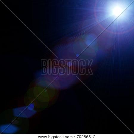 Light. concert lighting against a dark background ilustration