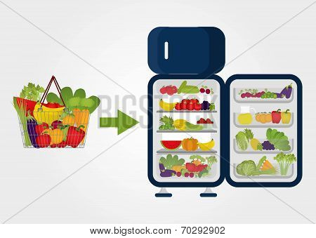Buying Fruits And Vegetables