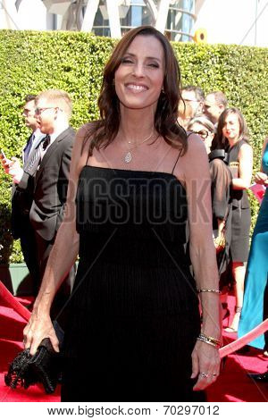 LOS ANGELES - AUG 16:  Cecilia Peck at the 2014 Creative Emmy Awards - Arrivals at Nokia Theater on August 16, 2014 in Los Angeles, CA