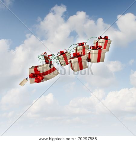Christmas Gift Sled