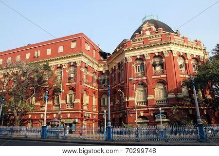KOKATA, INDIA - NOVEMBER 25: B.B.D. Bagh - the business centre of Calutta / Kolkata, India  on November 25, 2012