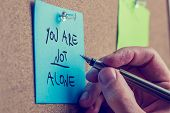 pic of memento  - You Are Not Alone  - JPG