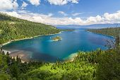 pic of emerald  - Famous Emerald Bay, Lake Tahoe California USA