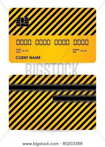 Vector Credit Card Illustration