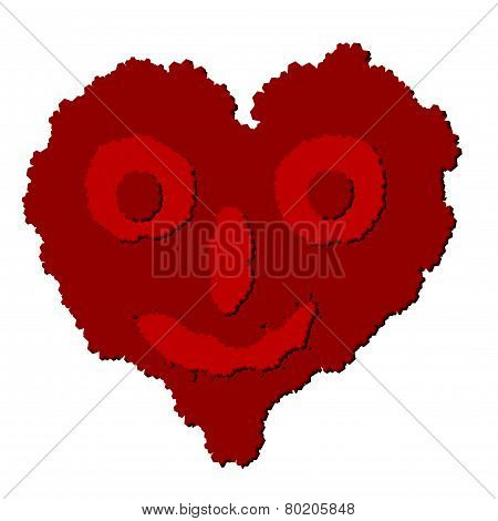 Vector Heart Looks Like Boogerman
