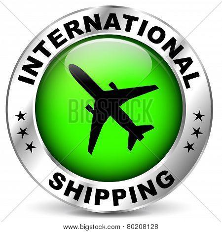 International Shipping Icon