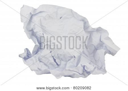Crumpled Paper Background