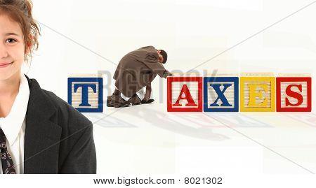 Alphabet Blocks Taxes