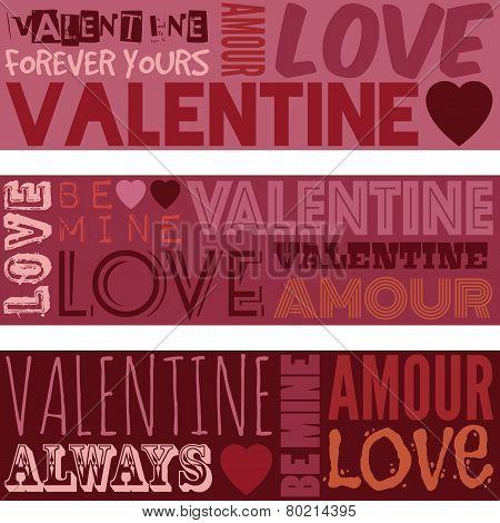 Valentine Banners