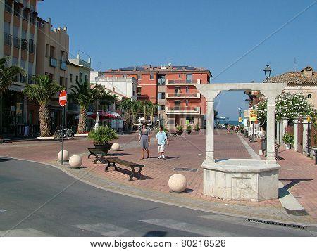 Piazza Kennedy a Marotta
