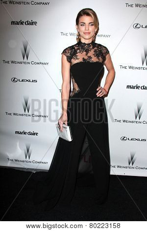 LOS ANGELES - JAN 11:  Annalynne McCord at the The Weinstein Company / Netflix Golden Globes After Party at a Beverly Hilton Adjacent on January 11, 2015 in Beverly Hills, CA