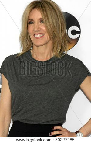 LOS ANGELES - JAN 14:  Felicity Huffman at the ABC TCA Winter 2015 at a The Langham Huntington Hotel on January 14, 2015 in Pasadena, CA
