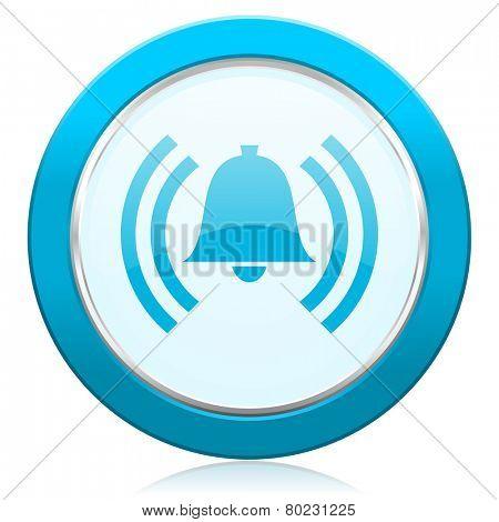 alarm icon alert sign bell symbol