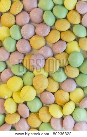 colorful sugar bonbons