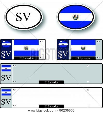 El Salvador Auto Set