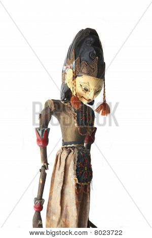 Asian Wayang Golek Puppet
