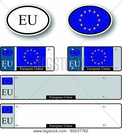 European Union Auto Set