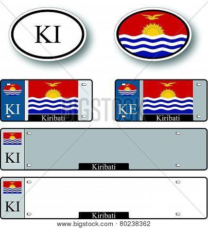 Kiribati Auto Set