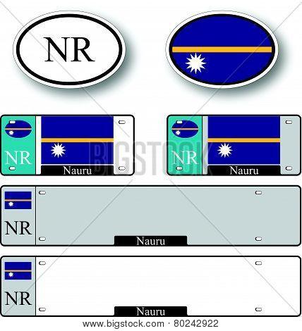 Nauru Auto Set