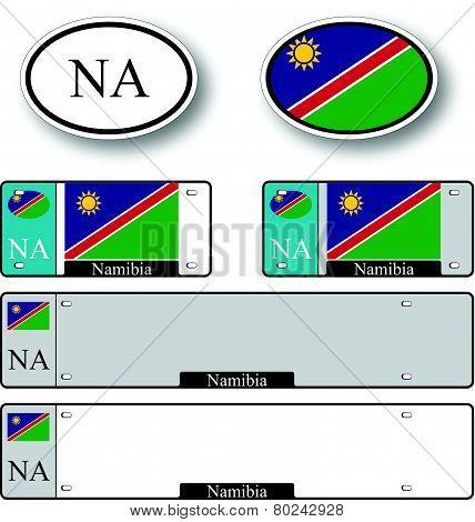 Namibia Auto Set