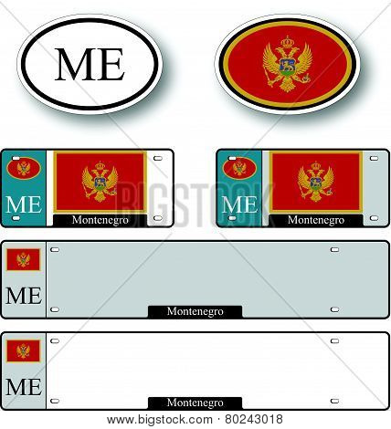 Montenegro Auto Set