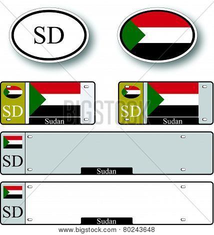 Sudan Auto Set