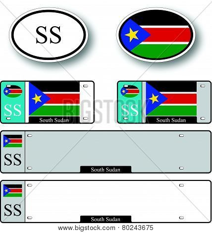 South Sudan Auto Set