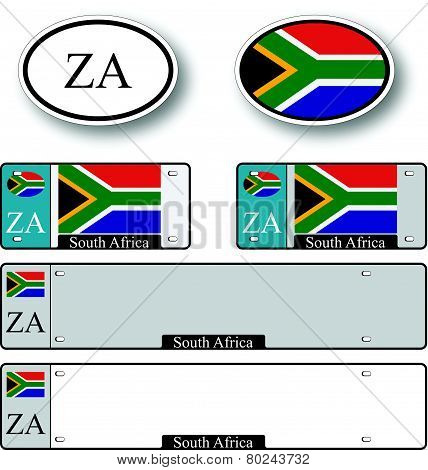 South Africa Auto Set