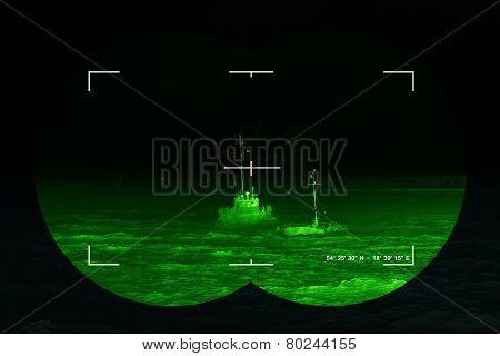 Infrared Night View