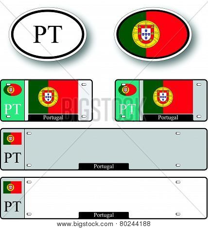 Portugal Auto Set