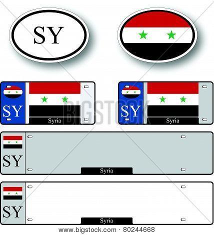 Syria Auto Set