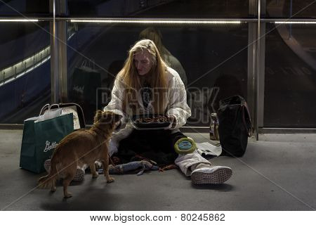 Homeless Life In Las Vegas