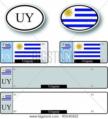 Uruguay Auto Set