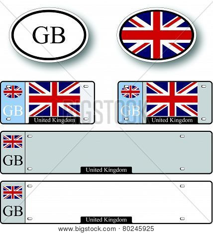 United Kingdom Auto Set