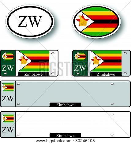 Zimbabwe Auto Set